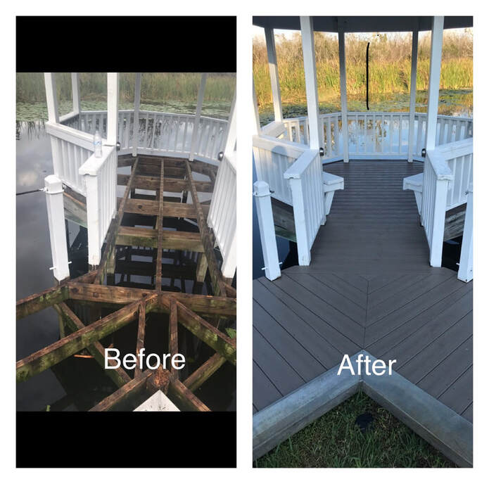 Deck Replacement at Fence and Decks of Ocala in Ocala, FL